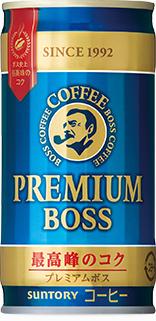 1本あたり60円《税込64.8円》 缶コーヒー サントリー BOSS《ボス》 プレミアムボス 1ケース《30本入》《1配送あたり最大3ケースまで同梱OK 》 缶 早割クーポン 190g 春の新作