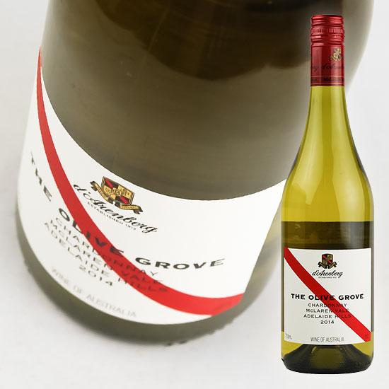 ほのかなオークの風味が縁取り 溌剌とした酸味が余韻に長く残る ダーレンベルグ オリーブ グローブ シャルドネ Chardonnay 2020 国内在庫 Grove 白d'Arenberg 高い素材 Olive 750ml