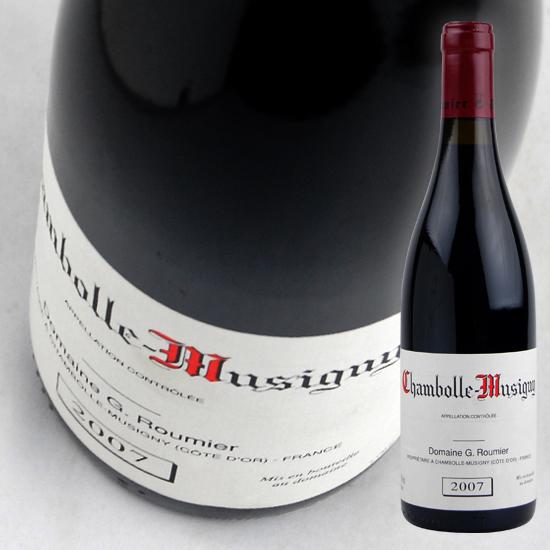 【ジョルジュ ルーミエ】 シャンボール ミュジニー [2007] 赤 750ml Georges Roumier Chambolle Musigny