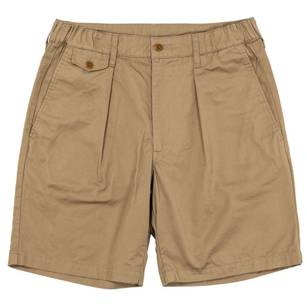 【SALE 30%OFF】 WORKERS【ワーカーズ】Tack Shorts, 7.3 oz Compact Chino