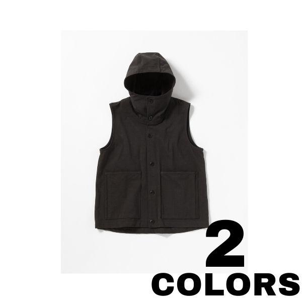 JACKMAN【ジャックマン】Stretch Hooded Vest