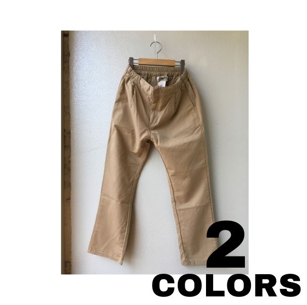 REMI RELIEF【レミレリーフ】C/T CHINO EASY PANTS