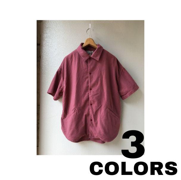 REMI RELIEF【レミレリーフ】コットンネル オープンシャツJK