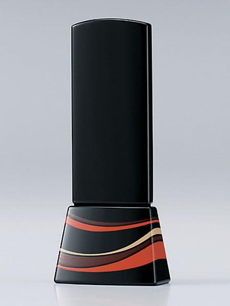 【現代仏壇・仏具・家具調仏壇・モダン仏壇に最適】 位牌 風の調 4.0寸