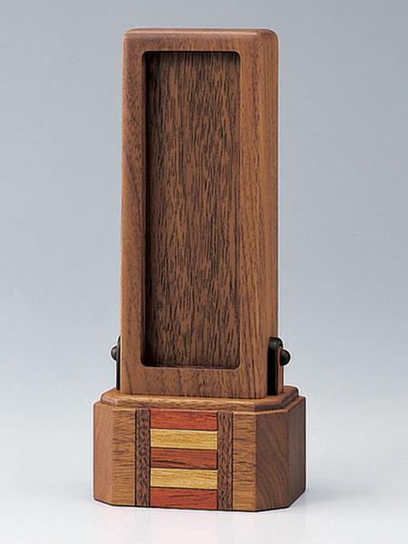 【現代仏壇・仏具・家具調仏壇・モダン仏壇に最適】回出し位牌 ロッキー
