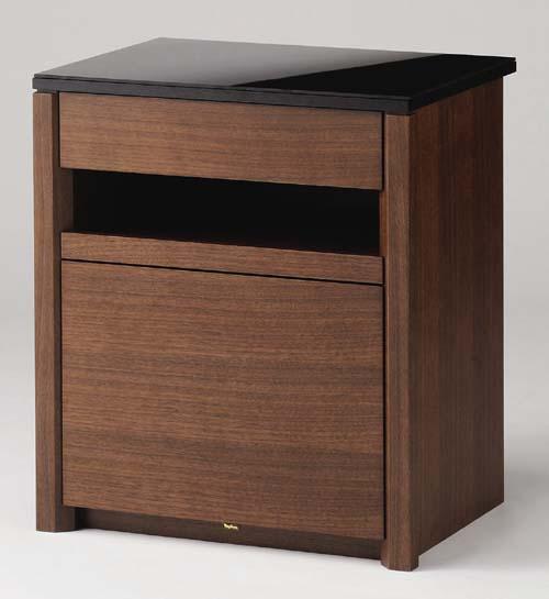 大規模セール 輸入 家具調 モダンで小さな仏壇向けの専用台 経机にもなります 仏壇専用台 チェスト 増台 八木研 経机 コンビダーク