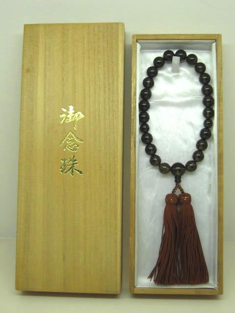 【数珠・念珠】 数珠 茶水晶 12φ