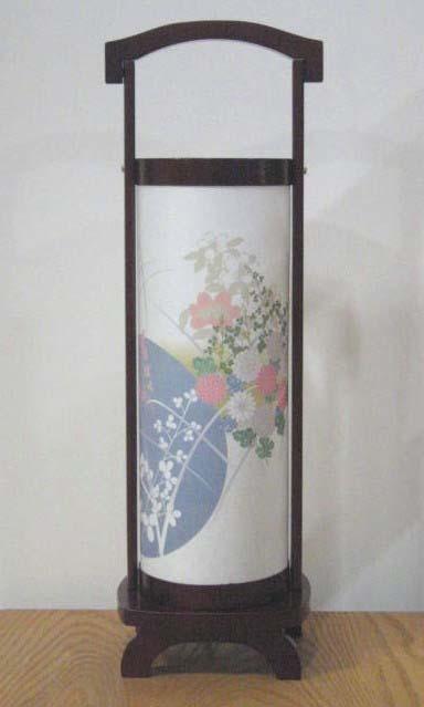 【盆提灯・ちょうちん】 行灯 浄円 桜調 【小型】