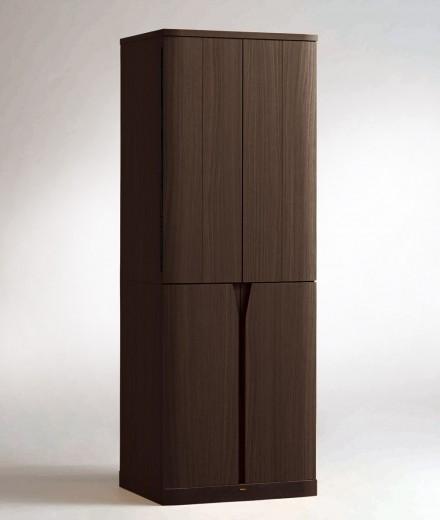 送料無料!【現代仏壇 台付きタイプ】 トラスト ダークブラウン 1400 【八木研】