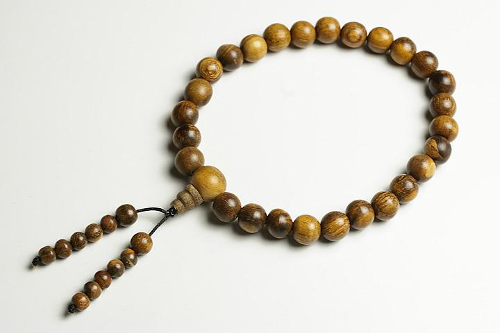 【数珠・念珠】11mm 沈香 数珠 インドネシア産