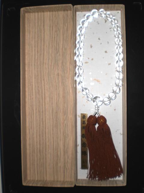 【数珠・念珠】 10φ 水晶
