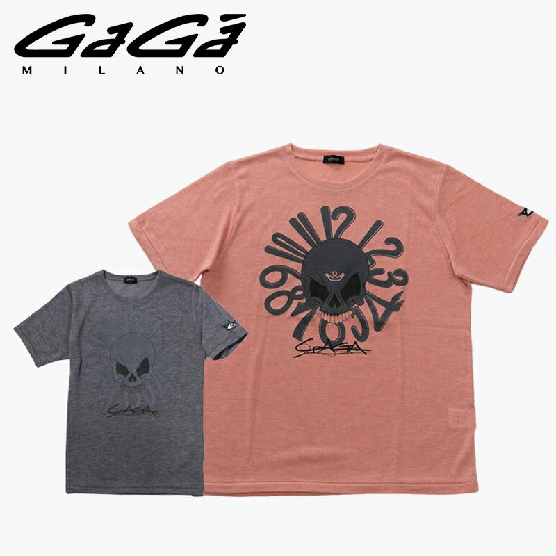 new concept 07ac9 20e5c ニット Tシャツ MILANO GaGa ガガミラノ 半袖ニット 【お買上げ ...