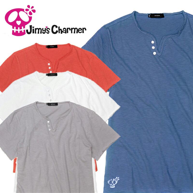 ジミーズチャーマー Jimy's Charmer Tシャツ メンズ Safari LEON 雑誌掲載 ジローラモ 秋山成勲【お買上げ11,000円以上で送料無料!!】