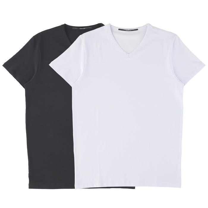 USUALIS ウザリス Tシャツ メンズ ブラック ホワイト 大阪 アメ村 オンライン 通販 新作 2020AW 002uc02t2250【お買上げ11,000円以上で送料無料!!】