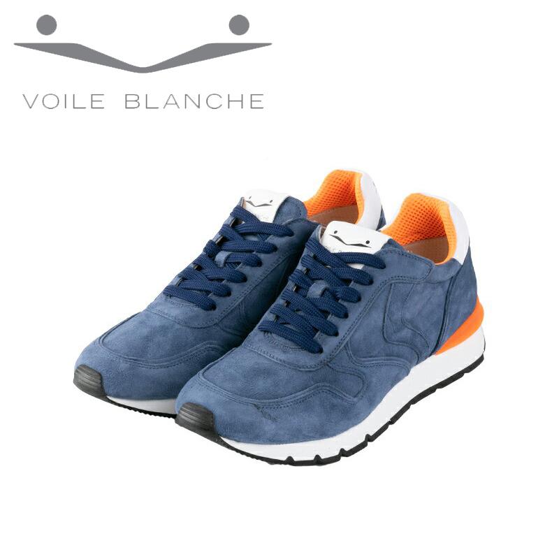 VOILE BLANCHE ボイルブランシェ スニーカー ブルー ローカット レア オシャレ イタリア 802201276401