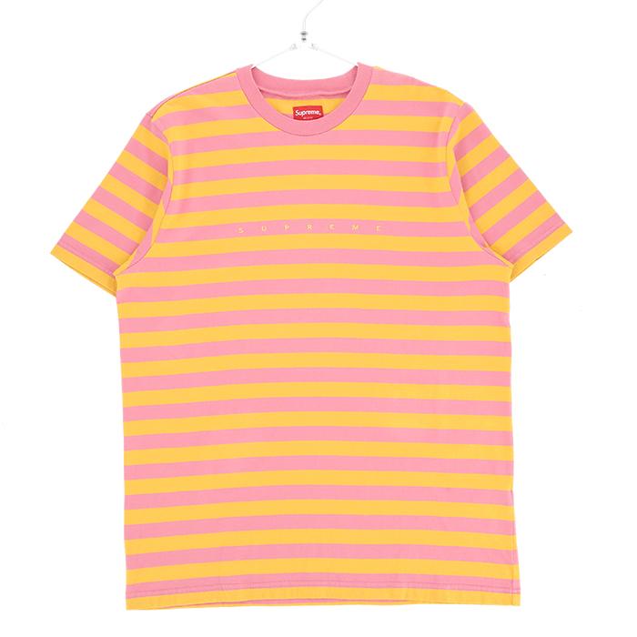 Supreme シュプリーム Tシャツ メンズ ピンク 大阪 アメ村 オンライン 通販 2018SS 801ss18kn23【お買上げ11,000円以上で送料無料!!】