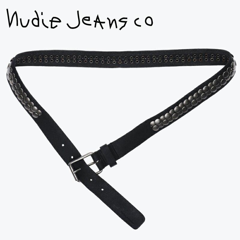 驚きの価格が実現! ヌーディージーンズ ベルト スタッズ Nudie Jeans Safari ベルト メンズ ブラック スタッズ Safari 雑誌掲載 バレンタイン【お買上げ10,800円以上で送料無料!!】, berry:818a6d3f --- phcontabil.com.br