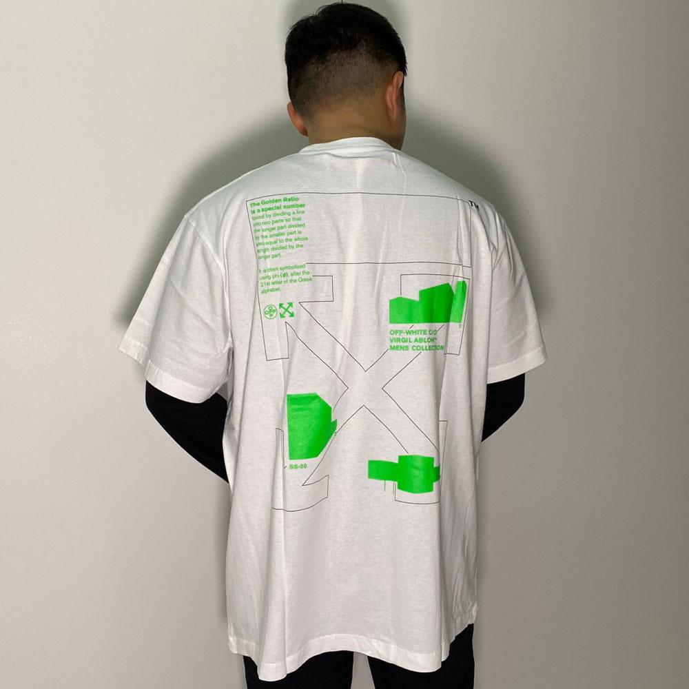 Off-White オフホワイト Tシャツ メンズ MASSIMO マッシモ 大阪 アメ村 オンライン 通販 新作 2020SS 001omaa038r5006【お買上げ11,000円以上で送料無料!!】