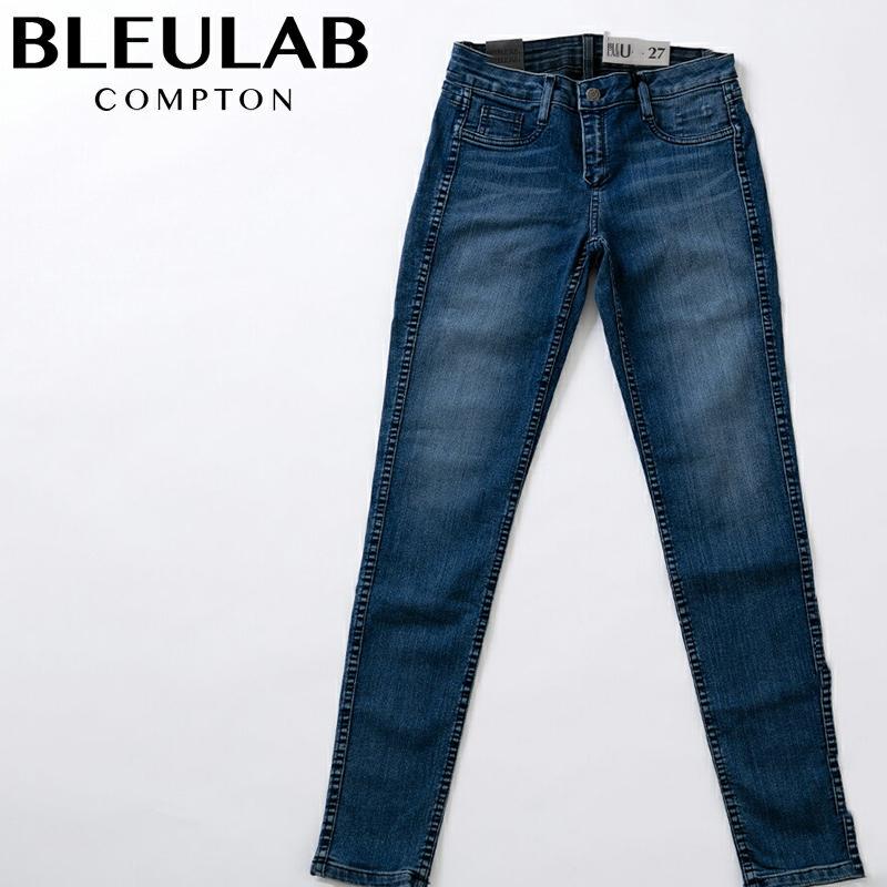 ブルーラブ BleuLab レディース デニム パンツ ブルー【お買上げ10,800円以上で送料無料!!】