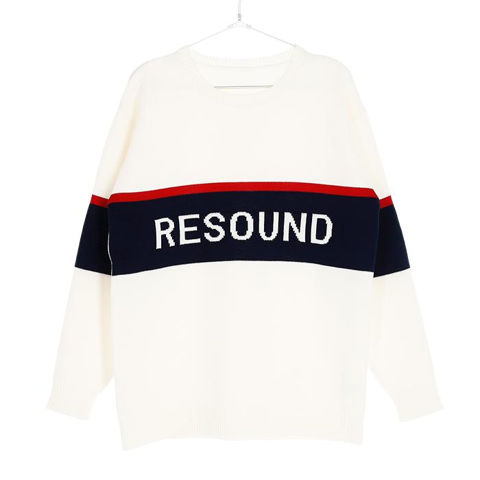 RESOUND CLOTHING リサウンド 18AW ニット 通販 メンズ 大阪 802rc9k002【お買上げ11,000円以上で送料無料!!】