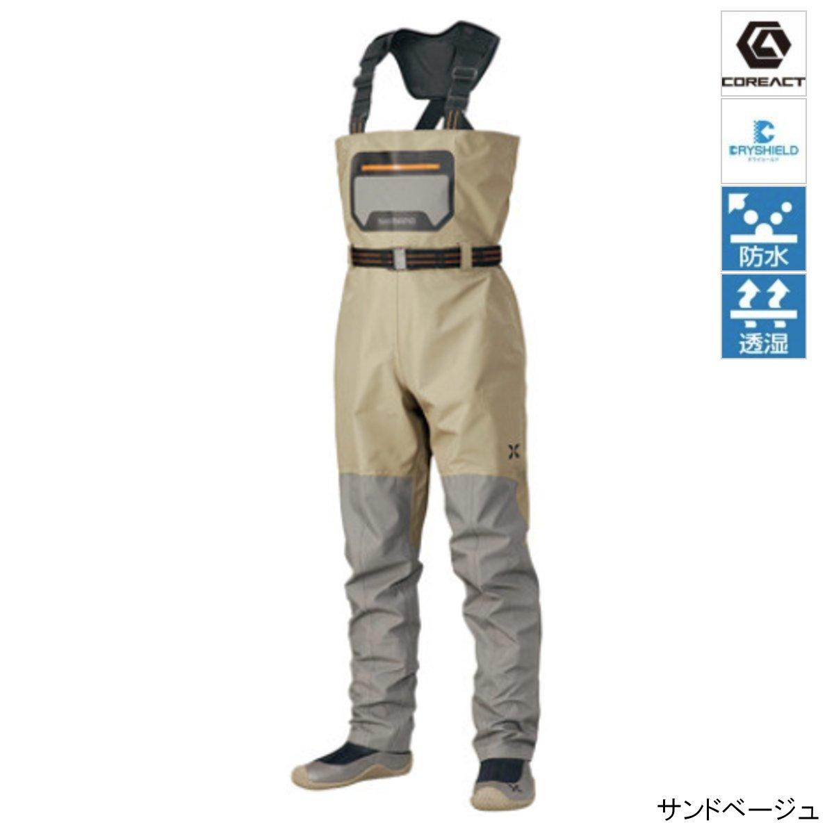 シマノ XEFO・サーフトリッパー ウェーダー WA-221R M サンドベージュ【送料無料】