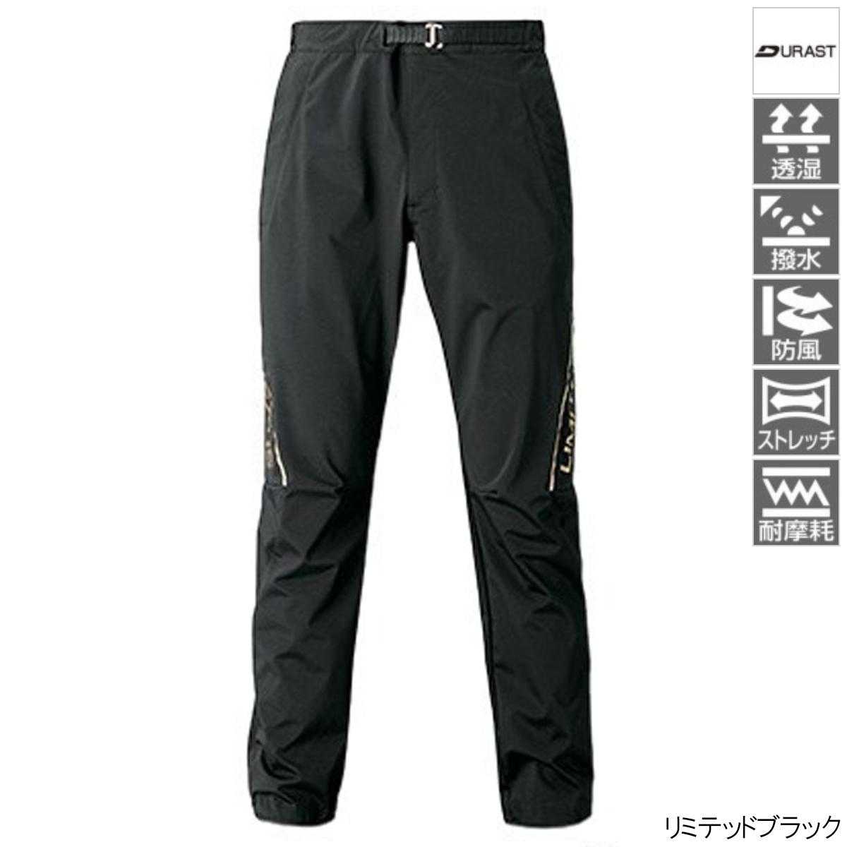 NEXUS DURAST パンツ LIMITED PRO WP-131T XL リミテッドブラック シマノ