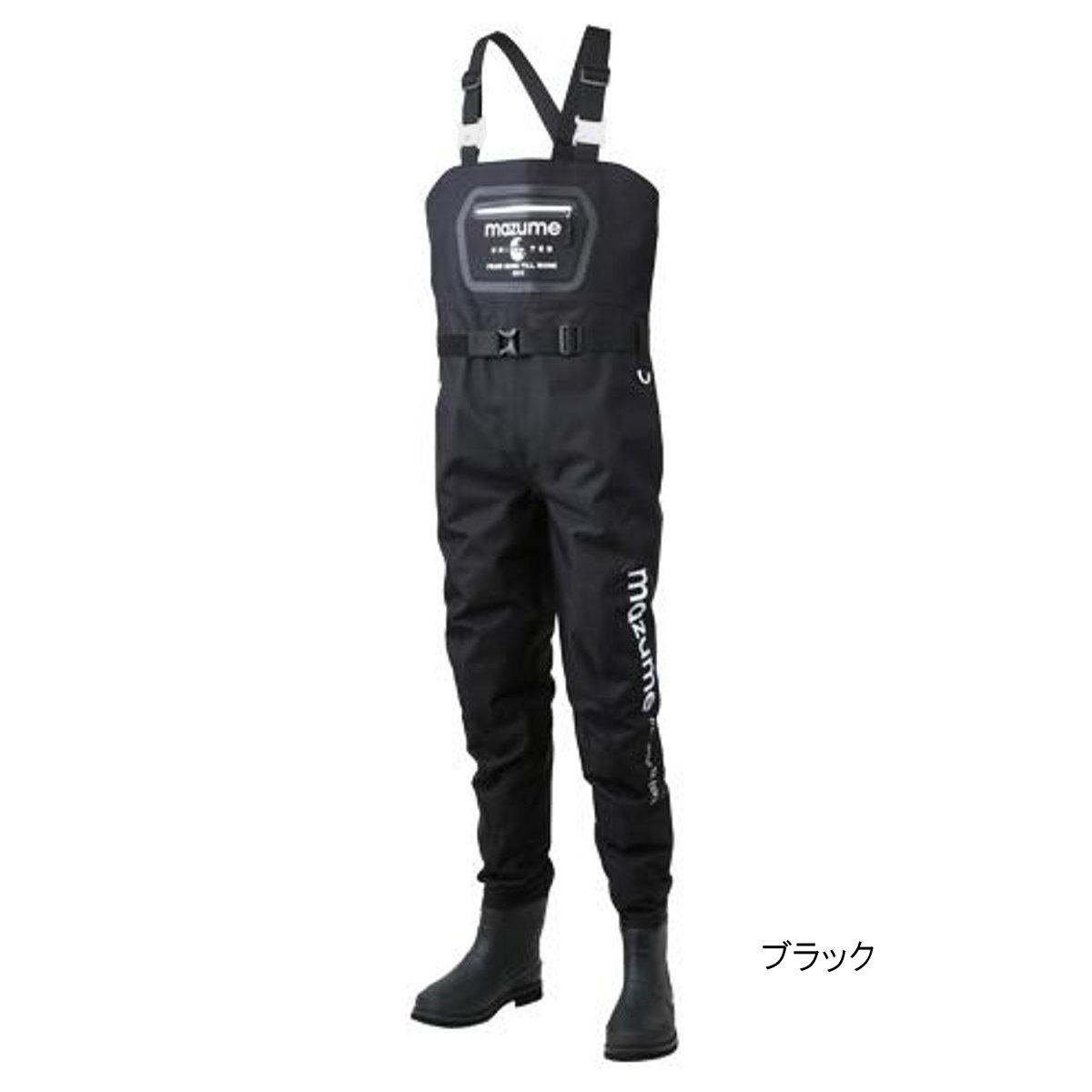 mazume ブーツフットゲームウェイダー(フェルトスパイク) MZBF-405 LL ブラック