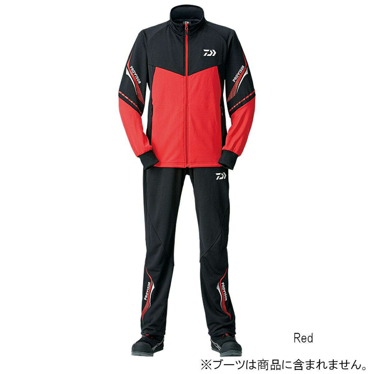 ダイワ プロバイザージャージスーツ DI-24008 XL Red【送料無料】