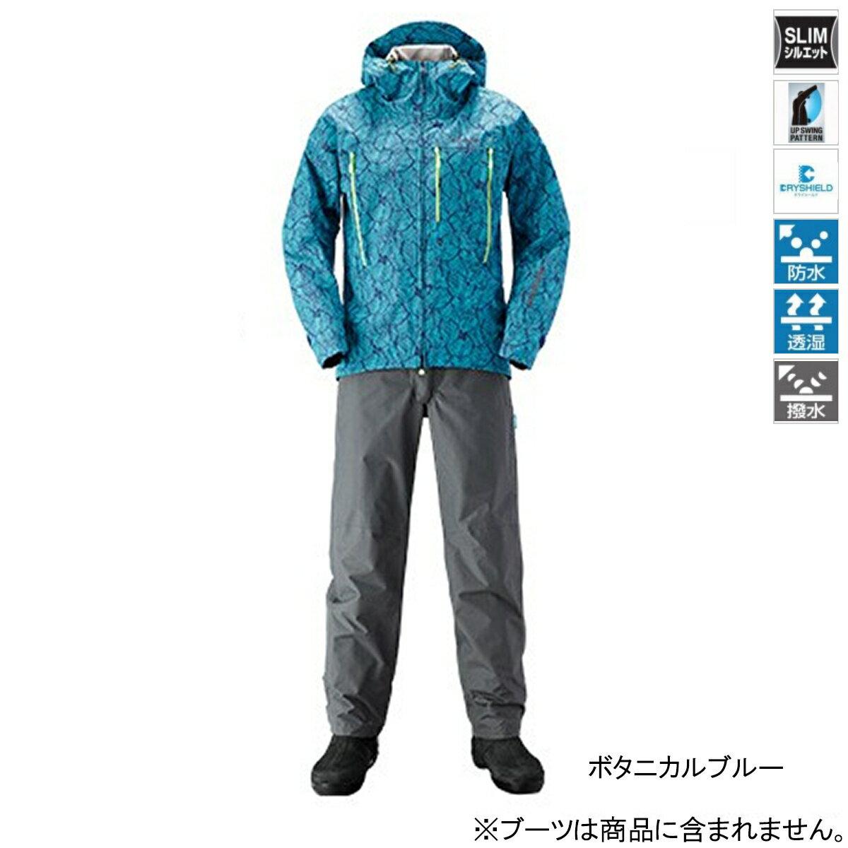 シマノ DSエクスプローラースーツ RA-024S 2XL ボタニカルブルー【送料無料】