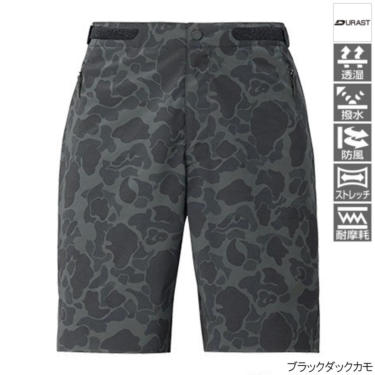 XEFO DURAST ショーツ WP-293T M ブラックダックカモ シマノ【同梱不可】
