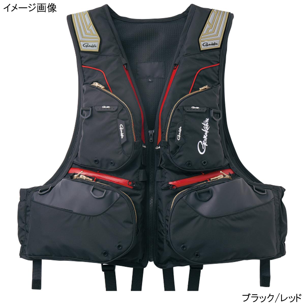フローティングベスト GM-2175 L ブラック/レッド【送料無料】