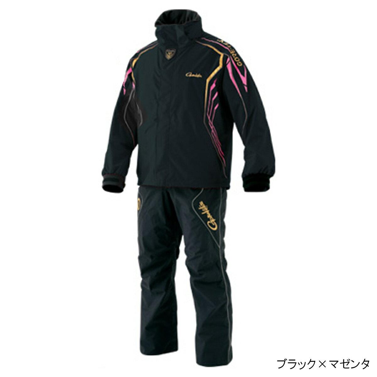 ゴアテックス レインスーツ GM-3500 L ブラック×マゼンタ【送料無料】