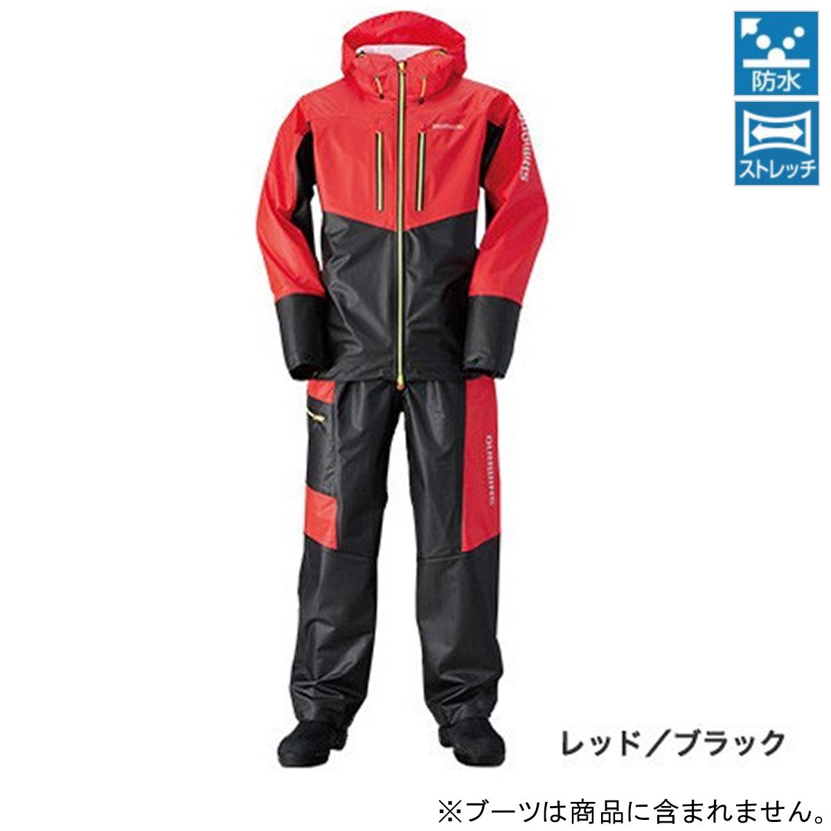 シマノ マリンライトスーツ RA-034N M レッド/ブラック