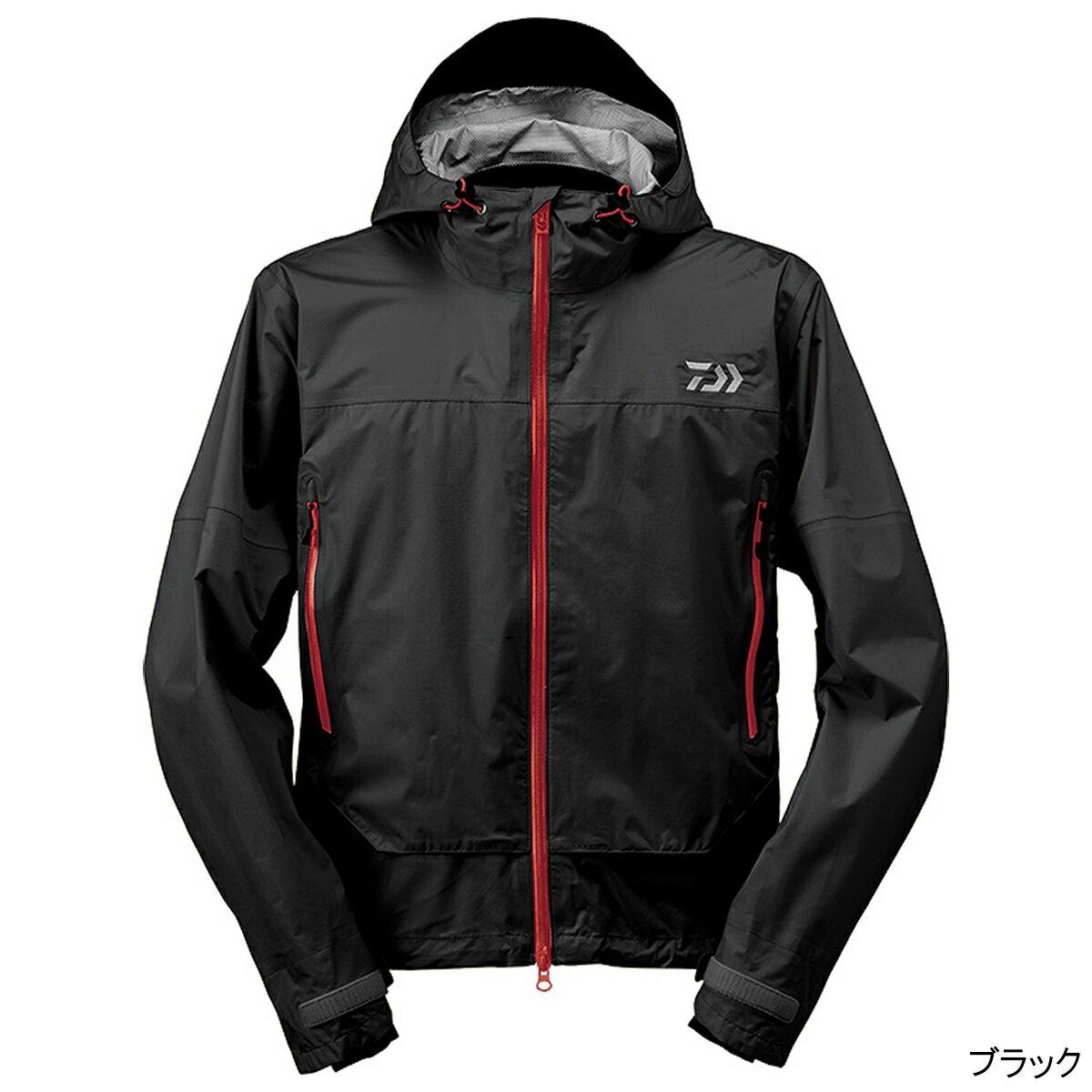 ダイワ レインマックス ショートレインジャケット DR-39009J M ブラック【送料無料】