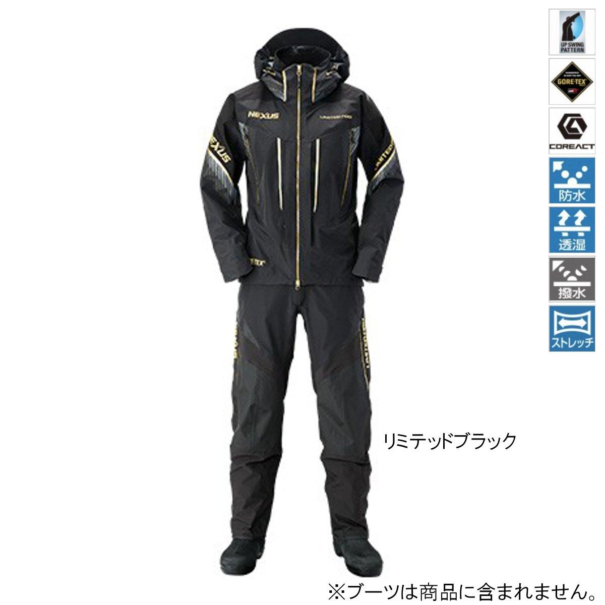 シマノ NEXUS・GORE-TEX レインスーツ LIMITED PRO RA-112S M リミテッドブラック【送料無料】