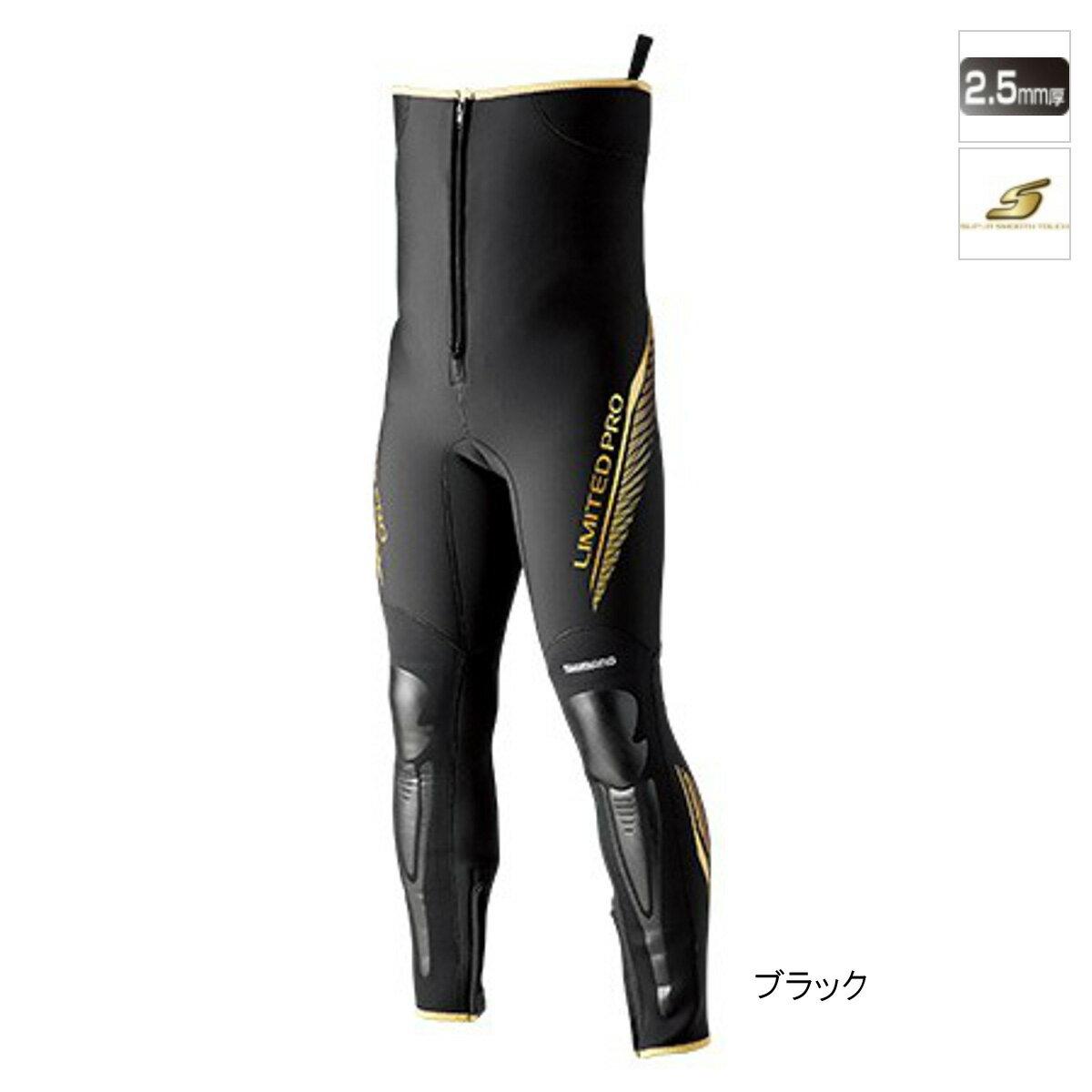 シマノ タイツリミテッドプロ FI-011S 3LB ブラック【送料無料】
