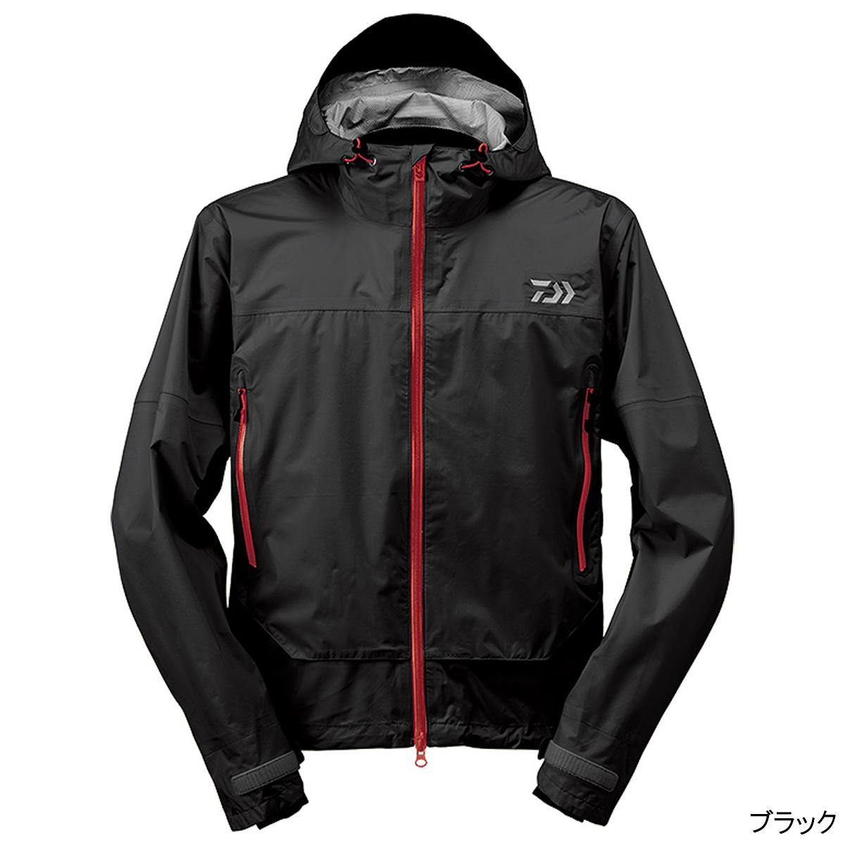 ダイワ レインマックス ショートレインジャケット DR-39009J XL ブラック【送料無料】