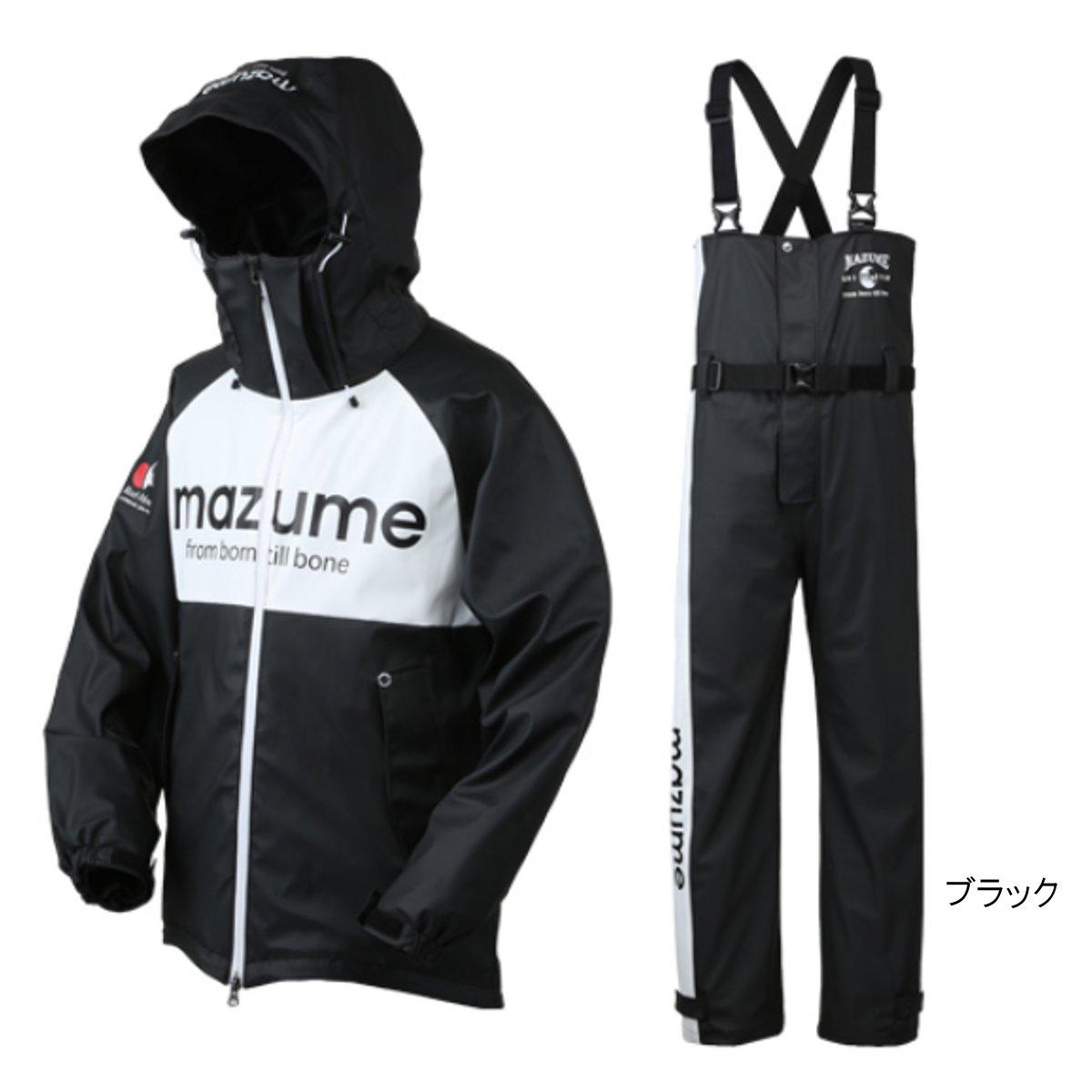 mazume ROUGH WATER レインスーツ II MZRS-383 L ブラック【送料無料】