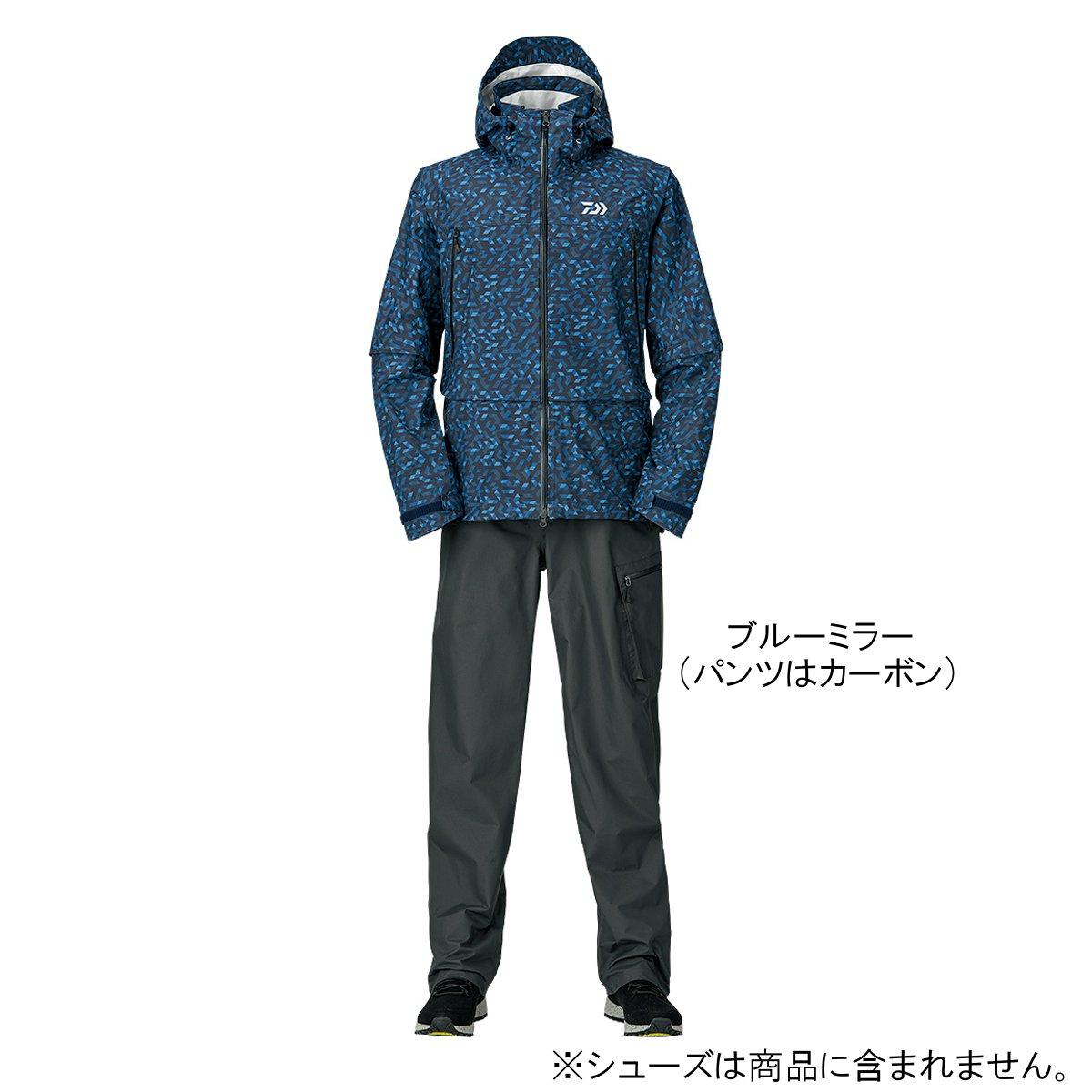 ダイワ レインマックス デタッチャブルレインスーツ DR-30009 L ブルーミラー【送料無料】