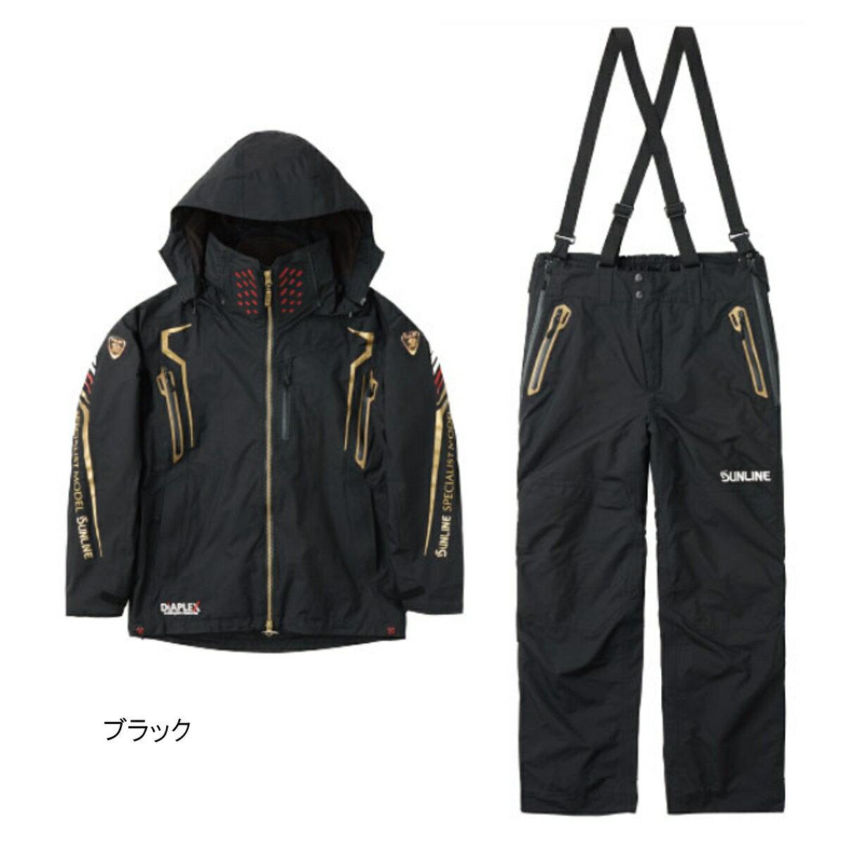 ステータス・ディアプレックスウォームアップスーツ STW-1703 3L ブラック【送料無料】