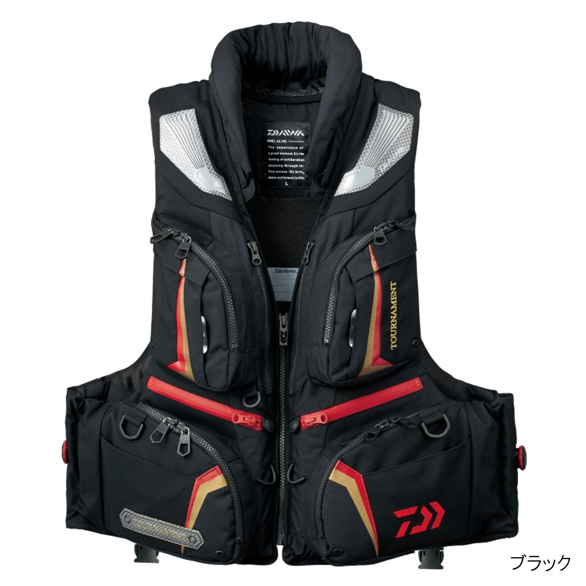 ダイワ トーナメント バリアテック 枕つきサイバーフロート DF-3107 M ブラック【送料無料】