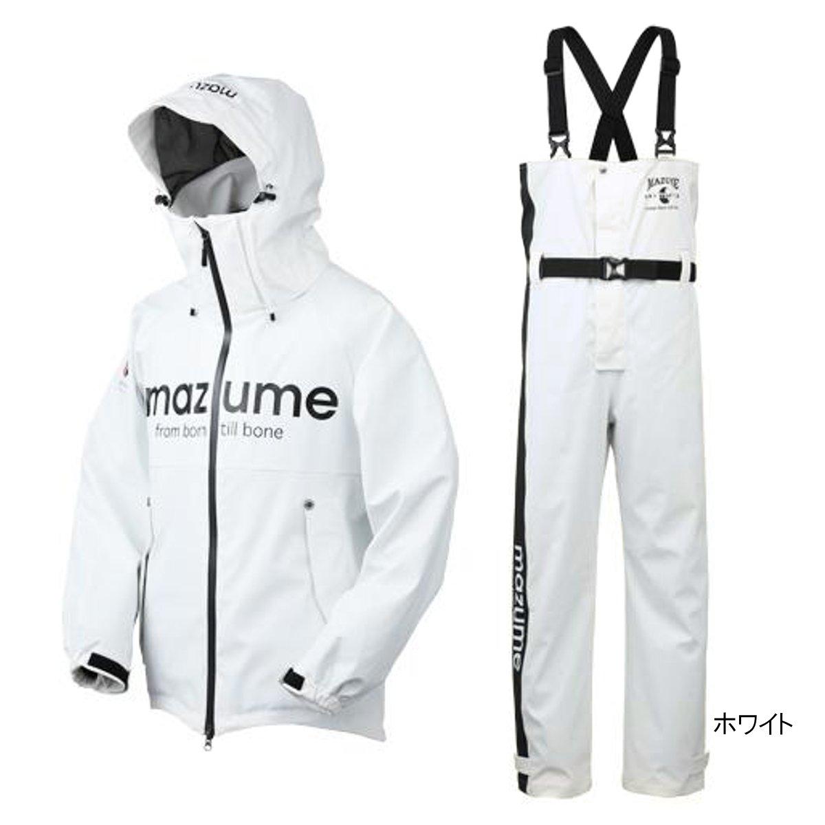 mazume ROUGH WATER レインスーツ II MZRS-383 L ホワイト【送料無料】