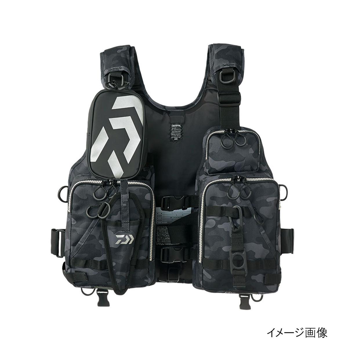 ダイワ フロートゲームベスト DF-6206 ブラックカモ【送料無料】