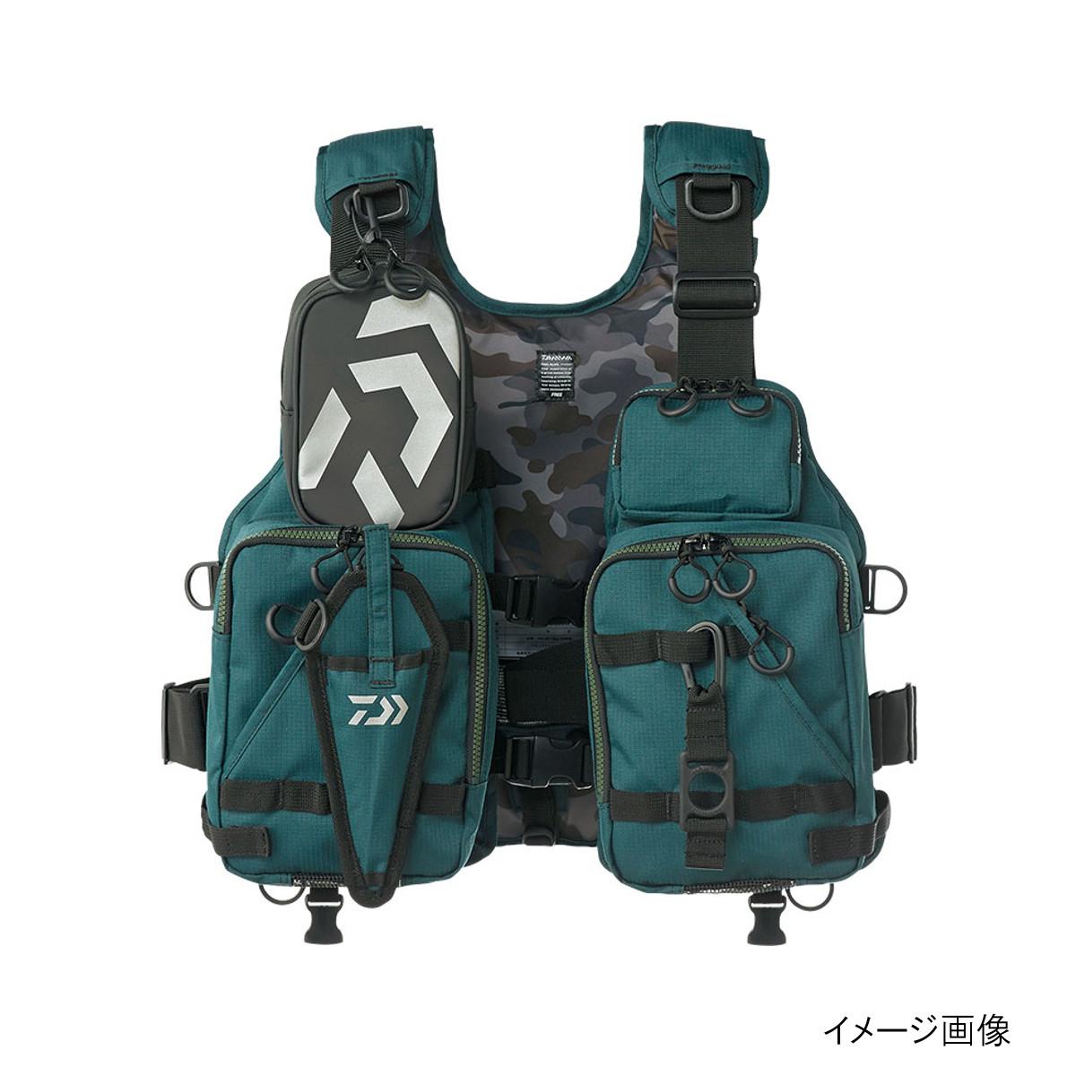 ダイワ フロートゲームベスト DF-6206 ディープグリーン【送料無料】