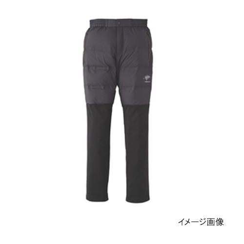 ハヤブサ FOURON ボディグリッドダウンパンツ Y2110 L 90(ブラック)【送料無料】