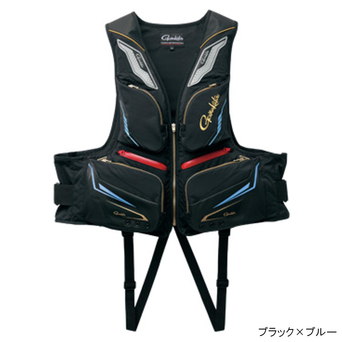 フローティングベスト GM-2179 LL ブラック×ブルー【送料無料】