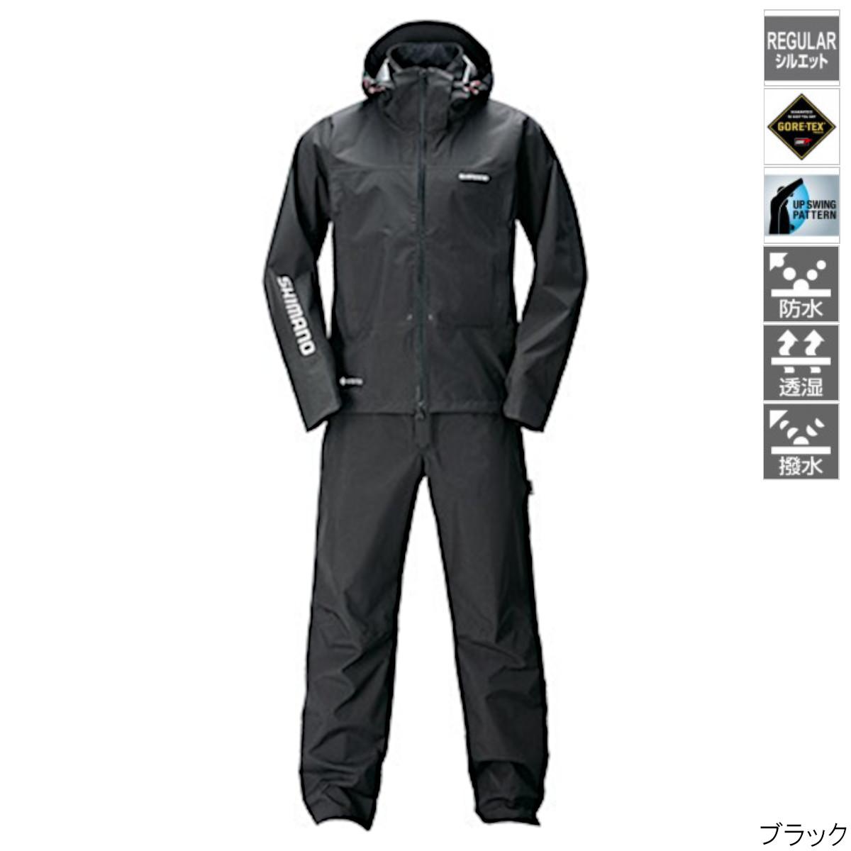 GORE-TEX アドバンスレインスーツ RA-017T 2XL ブラック シマノ