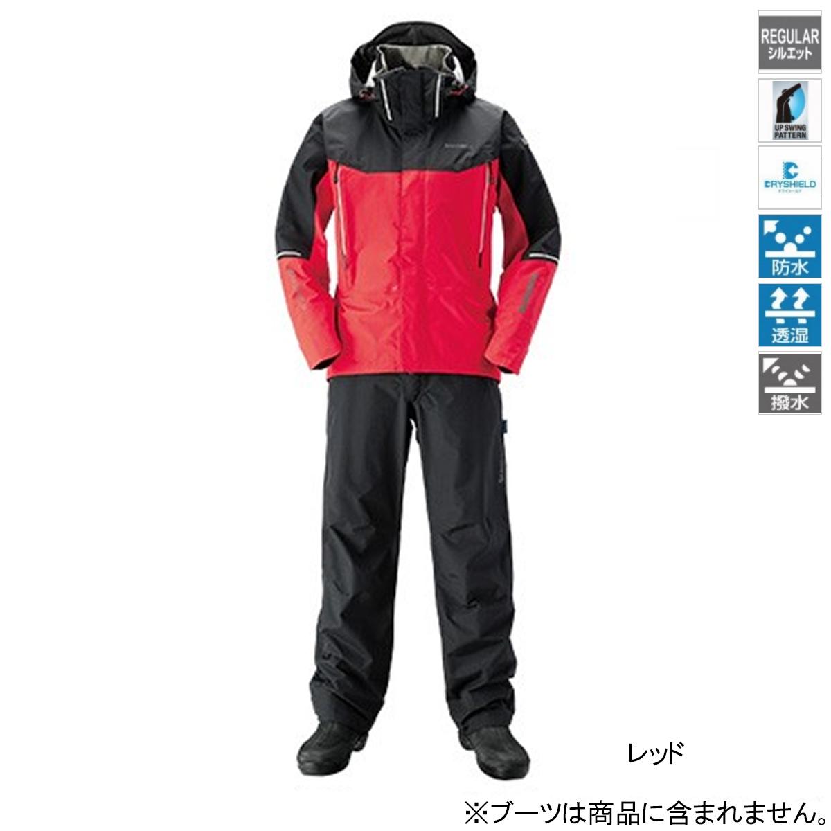 シマノ DSアドバンススーツ RA-025S 2XL レッド