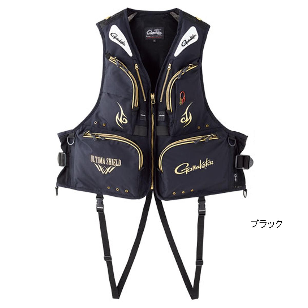 アルテマシールド200 フローティングベスト GM-2185 L ブラック【送料無料】