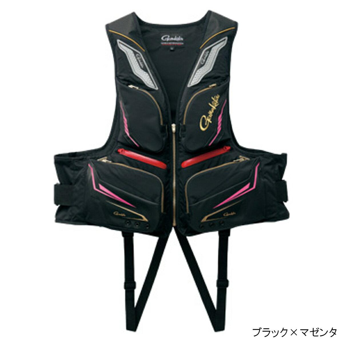 フローティングベスト GM-2179 L ブラック×マゼンタ【送料無料】